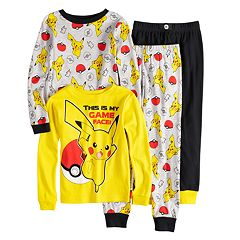 Boys 4-10 Pokemon 4-Piece Pajama Set