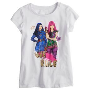 """Disney's Descendants Girls 7-16 """"We Rule"""" Graphic Tee"""