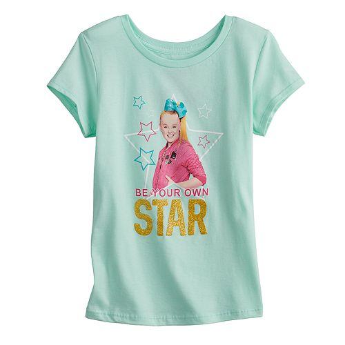 "Girls 7-16 JoJo Siwa ""Be Your Own Star"" Graphic Tee"