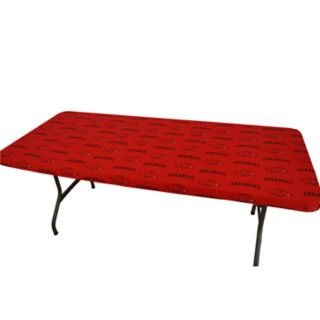 Arkansas Razorbacks 6-Foot Table Cover