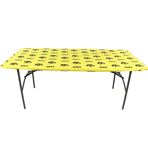 Iowa Hawkeyes 6-Foot Table Cover