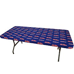 Ole Miss Rebels 6-Foot Table Cover
