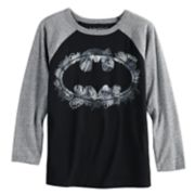 Boys 4-12 Jumping Beans® DC Comics Batman Scribbles Raglan Graphic Tee