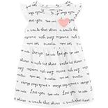 "Baby Girl Carter's ""Love You Too Cute"" Dress"