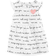 Baby Girl Carter's 'Love You Too Cute' Dress