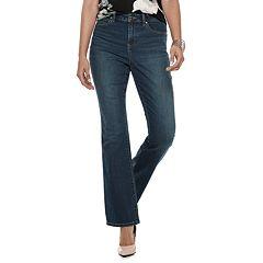 Women's Jennifer Lopez High-Waisted Bootcut Jeans