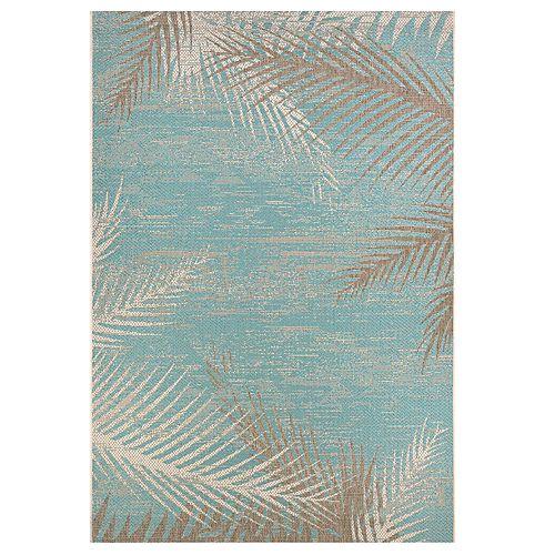 Couristan Monaco Tropical Palms Indoor / Outdoor Rug