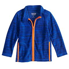 Toddler Boy Jumping Beans® Space Dyed Microfleece Zip Lightweight Jacket