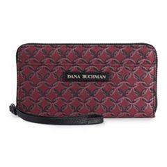 Dana Buchman Ava Chain-Link Jacquard Wristlet