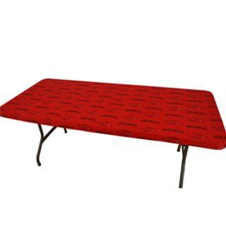Arkansas Razorbacks 8-Foot Table Cover
