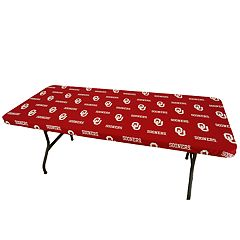 Oklahoma Sooners 8-Foot Table Cover