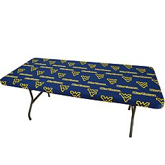West Virginia Mountaineers 8-Foot Table Cover