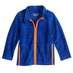 Baby Boy Jumping Beans® Space Dyed Microfleece Zip Lightweight Jacket