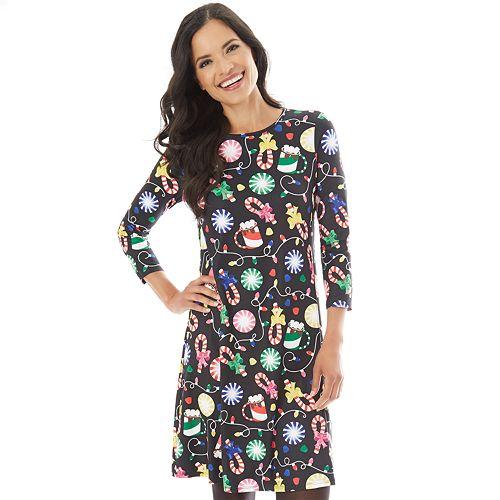 e76af1c3e468c Women's Holiday Swing Dress