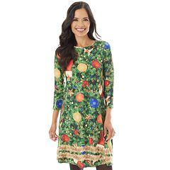 Women's Holiday Swing Dress
