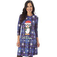 Women's Holiday Swing Dress
