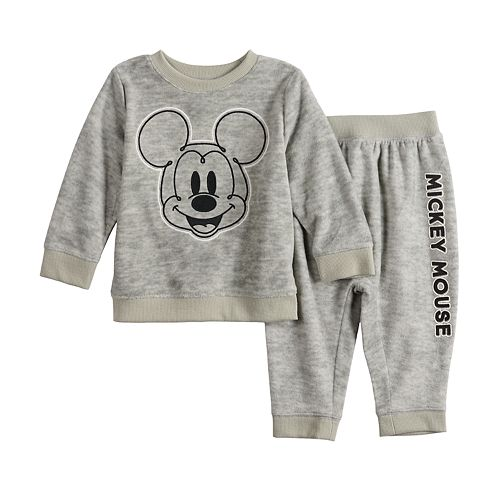 Disney's Mickey Mouse Baby Boy Fleece Sweatshirt & Pants Set by Jumping Beans®