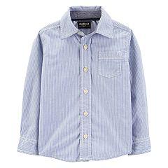 Toddler Boy OshKosh B'gosh® Woven Button Down Shirt