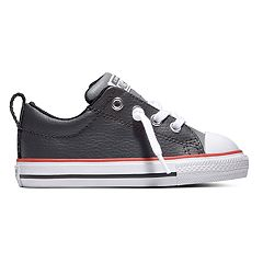 Toddler Boys' Converse Chuck Taylor All Star Street Slip Leather Sneakers