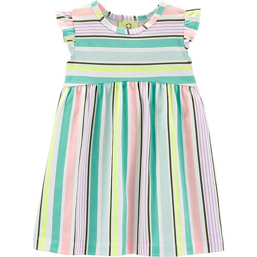 Baby Girl Carter's Striped Babydoll Dress