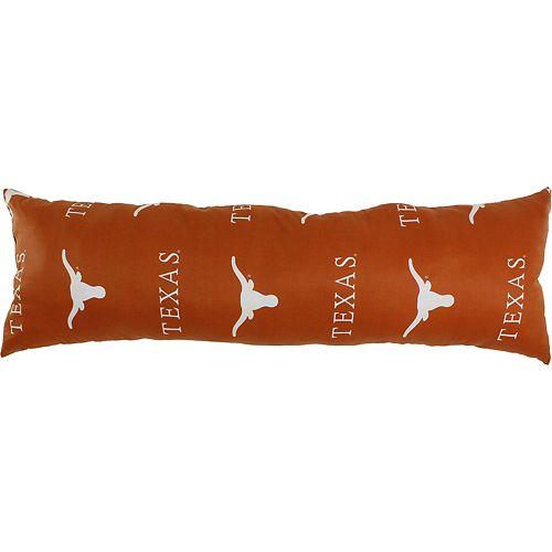 Texas Longhorns Body Pillow