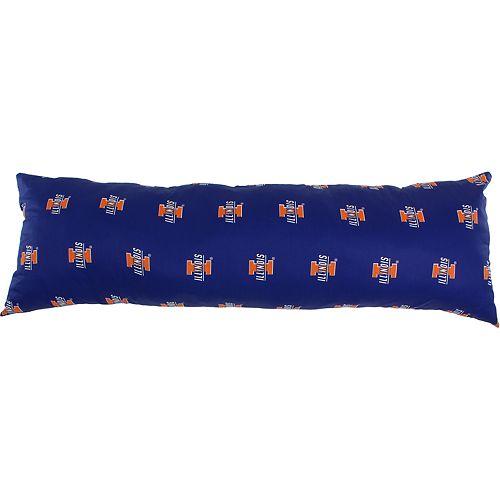 Illinois Fighting Illini Body Pillow