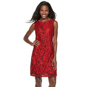 d60e372744 Women s Sharagano Lace Sheath Dress. (1). Regular