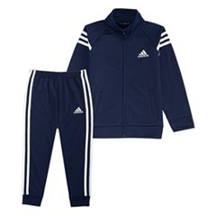 Toddler Boy adidas Tricot Zip Track Jacket & Pants Set