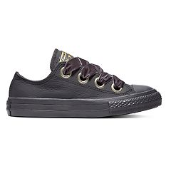 Girls' Converse Chuck Taylor All Star Big Eyelets Leather Sneakers
