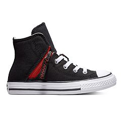 6d0d6ef151159d Kids  Converse Chuck Taylor All Star Pull Zip High Top Shoes. Black. sale