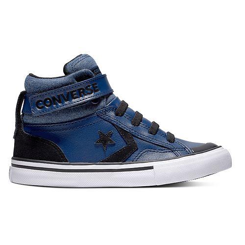 99b1fdd54c1c Boys  Converse CONS Pro Blaze Strap High Top Shoes