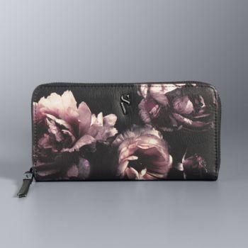 Simply Vera Vera Wang Signature Floral Wallet
