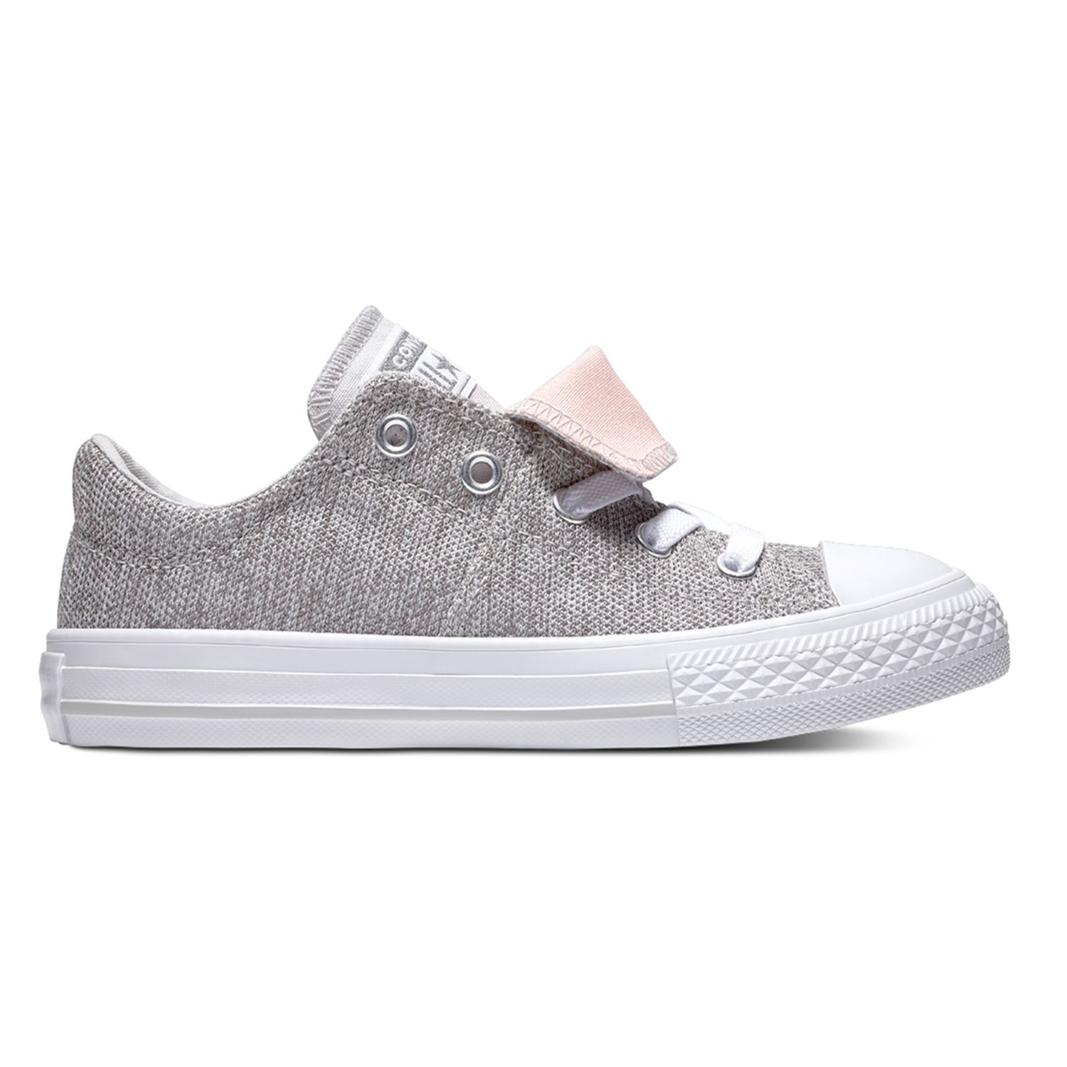 converse clothing, shoes \u0026 accessories kohl\u0027s  girls\u0027 converse chuck taylor all star maddie double tongue sneakers