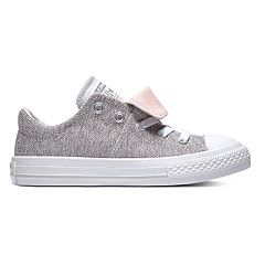 418212f20f0b Girls  Converse Chuck Taylor All Star Maddie Double Tongue Sneakers