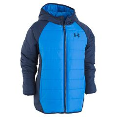Toddler Boy Under Armour Tuckerman Puffer Heavyweight Raglan Hooded Jacket
