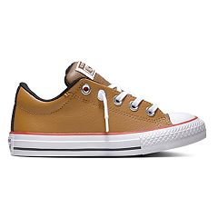 Boys' Converse Chuck Taylor All Star Street Slip Low Leather Sneakers
