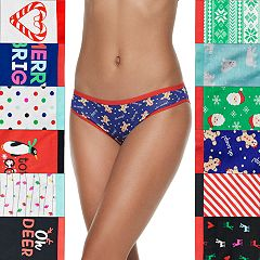 SO® 12 Days of Undies Christmas Holiday Box