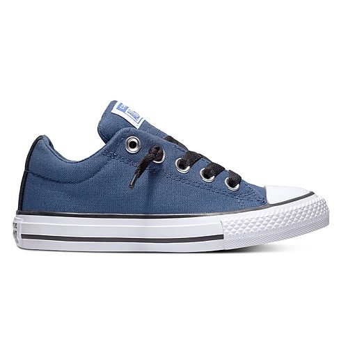 Boys' Converse Chuck Taylor All Star Street Slip Low Sneakers