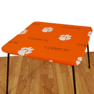 Clemson Tigers Card Table Cover