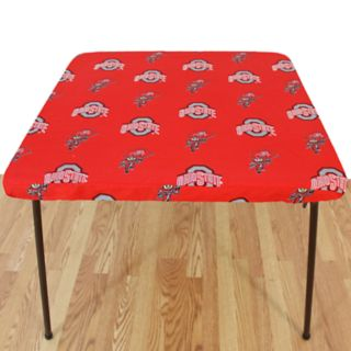 Ohio State Buckeyes Card Table Cover