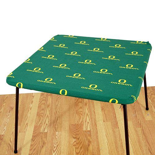 Oregon Ducks Card Table Cover