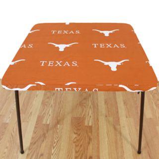 Texas Longhorns Card Table Cover