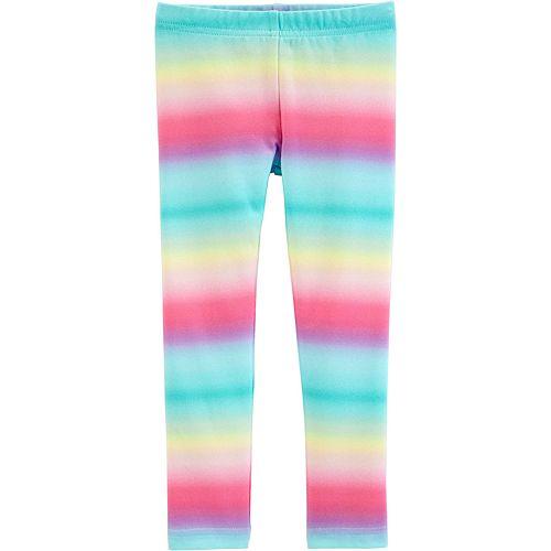 2b768611318f8 Toddler Girl Carter's Rainbow Striped Leggings