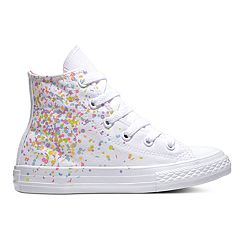 Girls' Converse Chuck Taylor All Star Birthday Confetti High Top Shoes