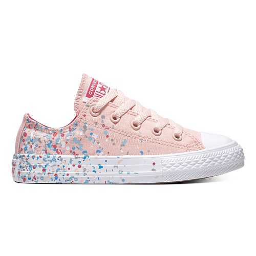 069a8953d75 Girls  Converse Chuck Taylor All Star Birthday Confetti Sneakers