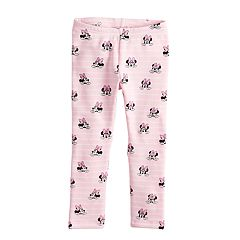 Disney's Minnie Mouse Toddler Girl Fleece Printed Leggings by Jumping Beans®