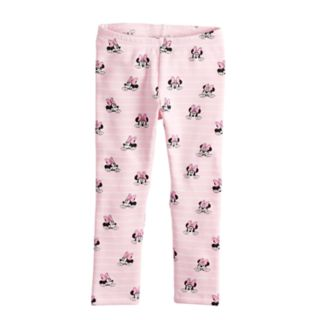 Disney's Minnie Mouse Toddler Girl Fleece Lined Printed Leggings by Jumping Beans®