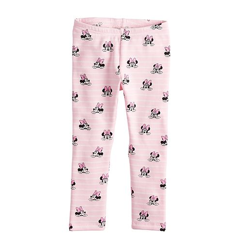 350562cdd Disney's Minnie Mouse Toddler Girl Fleece Lined Printed Leggings by ...
