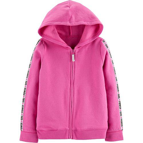 "Girls 4-14 Carter's ""Girl Power"" hoodie"