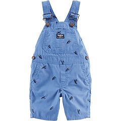 Toddler Boy OshKosh B'gosh® Dinosaur Shortalls